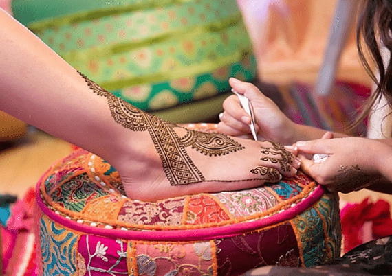 Mehndi and Sangeet Sikh Pre-Wedding Ritual