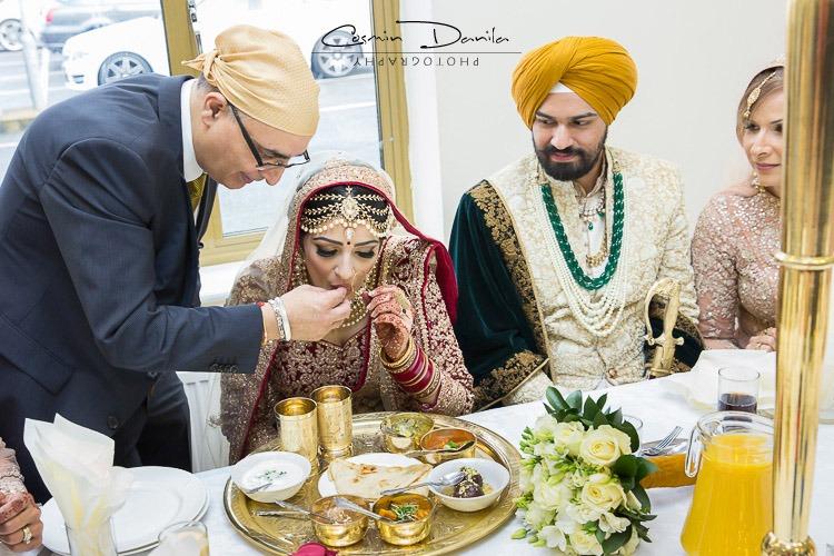 Sikh Wedding Lunch