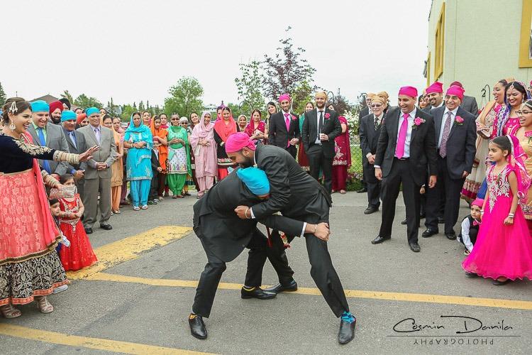 Sikh Wedding Tradition Milni Ceremony