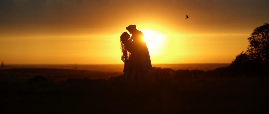 Sikh Couple Sunset