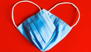 A PPE Mask Heart