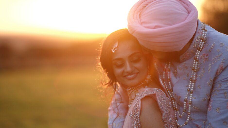 Sikh Wedding Couple